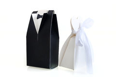 Paper Symbol of Bride and Groom Royalty Free Stock Photo