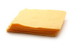 Paper table napkins Stock Image