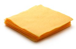 Paper table napkins Stock Photos