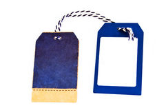 Paper tags. Royalty Free Stock Images