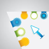 Paper tags Royalty Free Stock Images