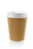 Paper take away coffee cup Stock Photo