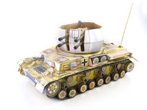 Paper Tank Stock Images