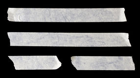 Paper Tape. In Black background royalty free stock photos