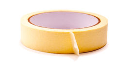 Paper tape isolated Royalty Free Stock Images