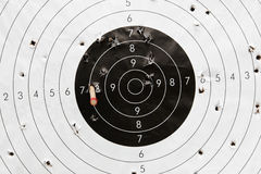 Paper target Royalty Free Stock Images