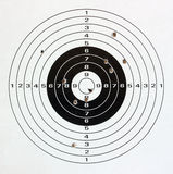 Paper target. Royalty Free Stock Photos