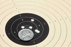 Air rifle shots Stock Image