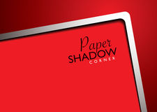 Paper template red Royalty Free Stock Images