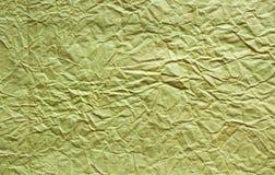 paper textur Guld- pappers- ark royaltyfri fotografi