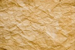 Paper texture. Texture for background of old rumpled paper Royalty Free Stock Photos