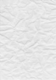 PAPER TEXTURE. Folded paper texture, white background stock images