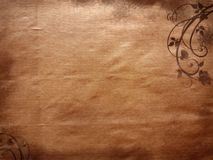 Paper texture. Grungy background texture with roses Royalty Free Stock Photo