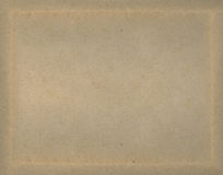 Paper texture background with natural frame. Brown paper texture background with natural frame royalty free stock image