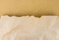 Paper texture brown paper sheet Royalty Free Stock Photo