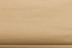 Paper texture. Brown paper sheet Royalty Free Stock Photography