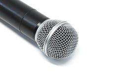 Microphone closeup detail tool art Stock Photo
