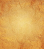 Paper texture - crumpled brown paper.  royalty free stock image