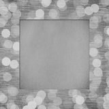 Paper texture on frame Royalty Free Stock Photography