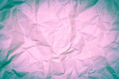 Paper texture - old paper sheet / wrinkled paper texture or back Stock Photography