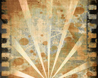 Paper texture. Old paper texture with some rays and spots and stains on it Royalty Free Stock Images