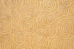 Paper texture with spiral pattern. Japanese Washi tissue with white Uzumaki pattern spirals against marbled mulberry paper stock photos