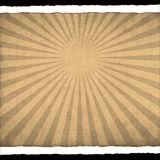 Paper texture with sunburst Royalty Free Stock Photos