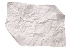 Paper texture. White paper sheet. Royalty Free Stock Images