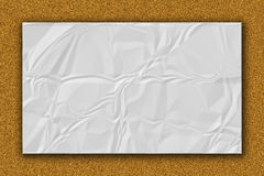 Paper texture. White paper sheet. Stock Images
