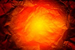 Paper textured background. Yellow and orange paper texture Royalty Free Stock Photo