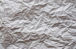 Paper textures. Used white paper textures close up textures Stock Image