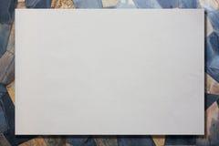 paper texturwhite Royaltyfri Bild