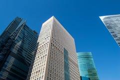 Paper Thin Skyscraper in Tokyo Stock Photos