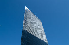 Paper Thin Skyscraper in Tokyo Royalty Free Stock Image