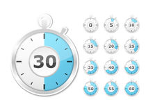 Paper Timers Stock Images