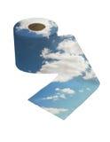 paper toalett Royaltyfria Bilder