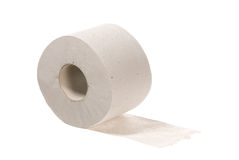 paper toalett Royaltyfri Bild