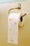 paper toaletten Royaltyfria Foton