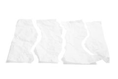 Paper Torn to Pieces Royalty Free Stock Image