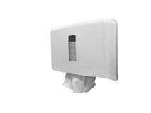 Paper towel dispenser Stock Images