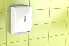 Paper towel dispenser Stock Photos