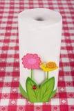 Paper towel holder Stock Image