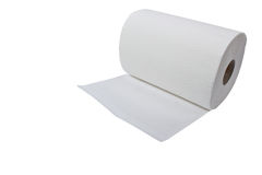 Paper towel roll Stock Photos