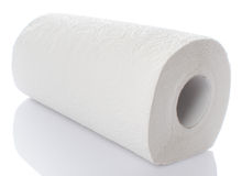 Paper towel roll Stock Photography