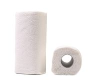 Paper towel roll Royalty Free Stock Photography