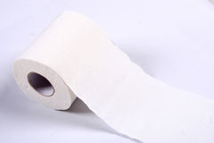 Paper towels. A roll of paper towels Royalty Free Stock Image