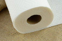 Paper towels Stock Image