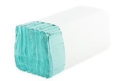 Paper towels pile Royalty Free Stock Images