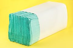 Paper towels pile Royalty Free Stock Image