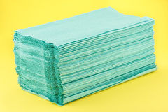 Paper towels pile Stock Image